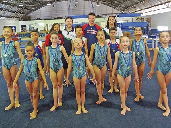 O evento foi importante para avaliar o nível técnico e postural das ginastas