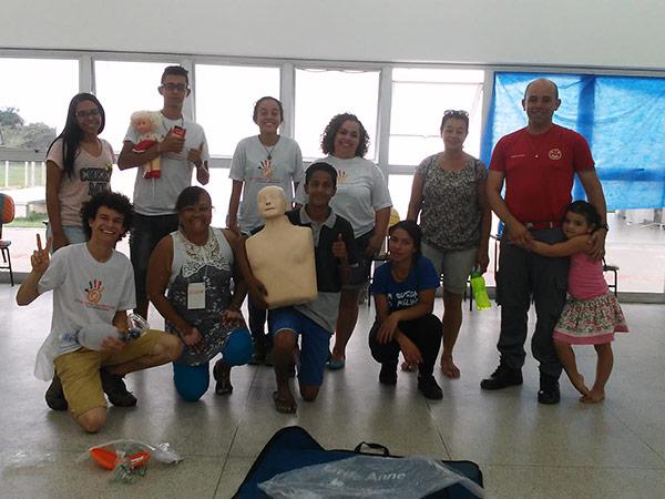 Alguns dos mais de 150 participantes dos cursos oferecidos pelo CEU das Artes