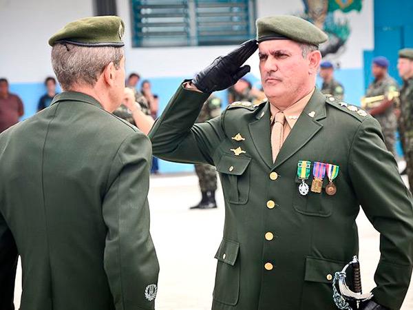 Rogério Caum, assumiu o 2º BE Cmb em 6 de janeiro de 2015