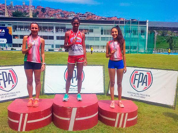 Atletas da cidade voltaram para casa com cinco medalhas