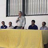 José Luíz Fontes, da Secretaria Estadual de Agricultura fez a abertura do evento