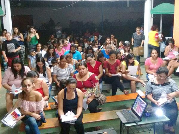 Evento na CMEI Dona Maria Benedita Cabral San Martin