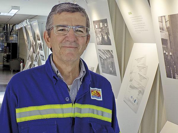 Euclides Queiroz está na empresa há 40 anos