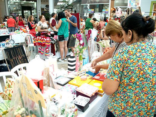 Momentos da primeira edição, realizada no Shopping Pátio Pinda