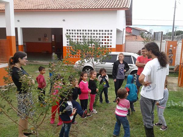 Espaço traz mais área verde ao ambiente escolar