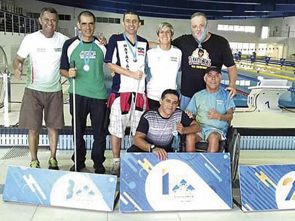 Atletas participaram do Circuito Loterias Caixa 2017