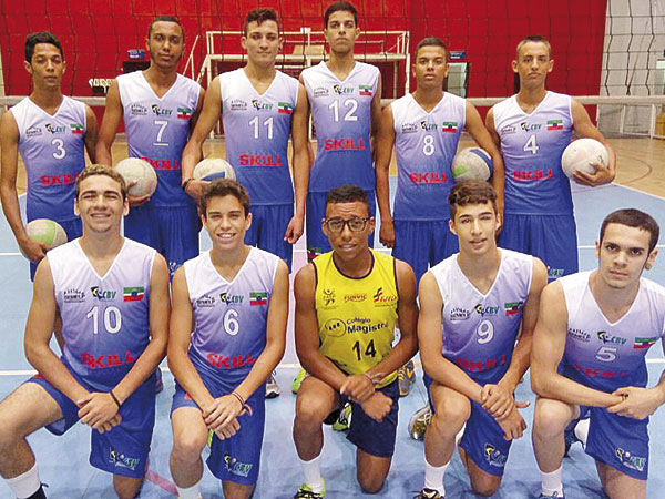 Equipe masculina joga às 10h30 no ginásio esportivo Juca Moreira