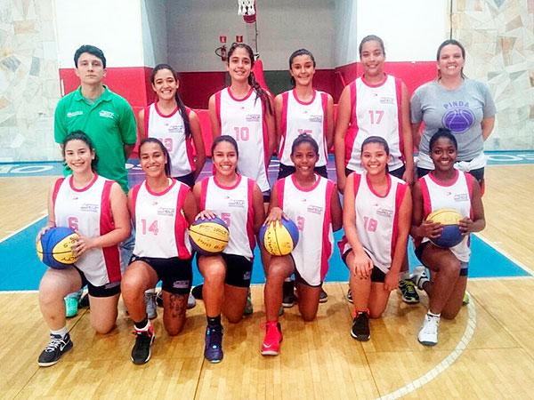 Equipe feminina de basquete venceu Caraguatatuba por 38 a 36