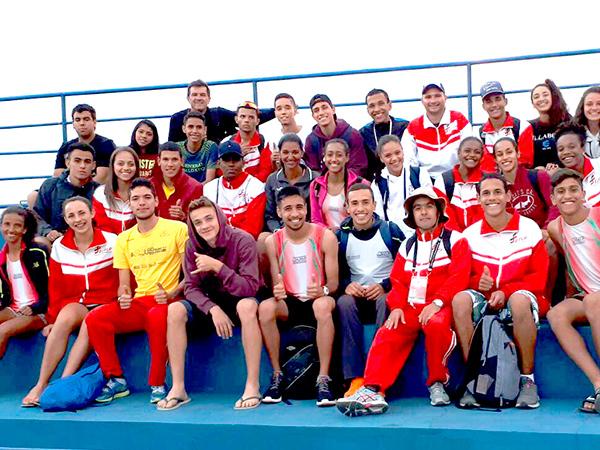 Na equipe de atletismo, o feminino ficou com o bronze na classificação geral. Já o masculino ficou em sétimo. A equipe trouxe ainda 5 ouros, 4 pratas e 3 bronzes