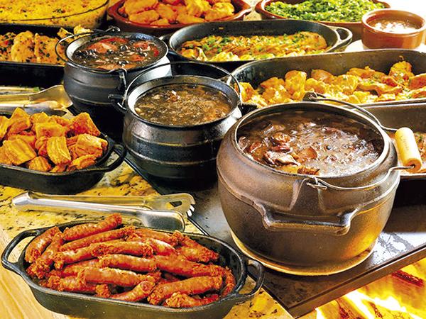 Nos restaurantes participantes, haverá festival de truta e muita comida de fogão a lenha