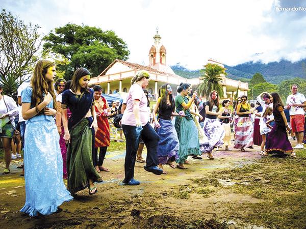 Serão quatro dias com atrações educativas, ecológicas, culturais e artísticas na Fazenda Nova Gokula