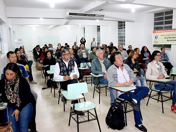Interessados no tema compareceram à conferência e puderam dar sua colaboração para as propostas de melhorias