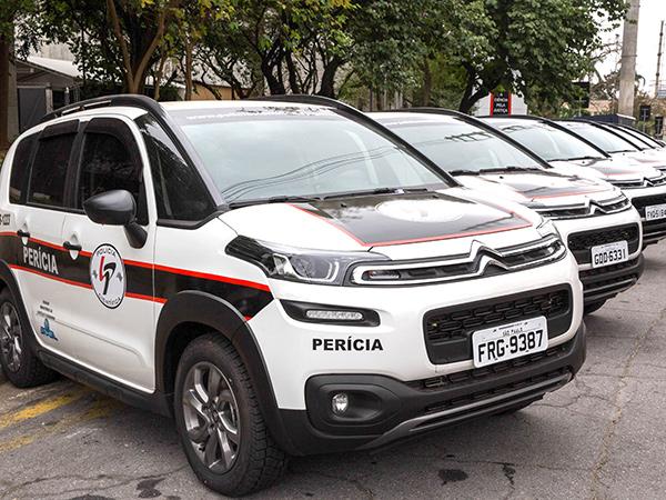 São 76 novos carros, da marca Citroen/Aircross, que custaram R$ 6,1 milhões e atenderão unidades da capital, Grande São Paulo e interior do Estado