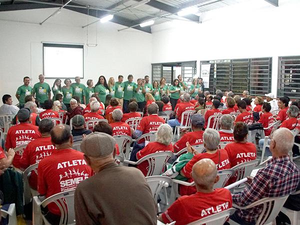 """A apresentação oficial e a reunião técnica aconteceram no """"João do Pulo"""""""