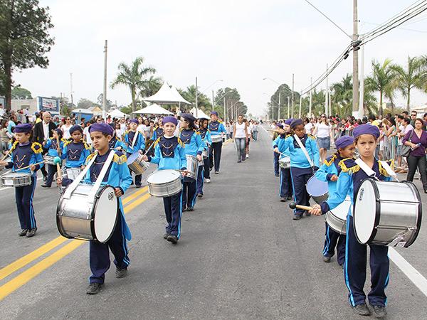Desfile acontecerá em Moreira César e na avenida Nossa Senhora do Bom Sucesso, em Pinda