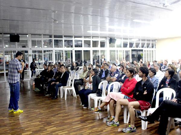 Superação, motivação e determinação marcaram as palestras