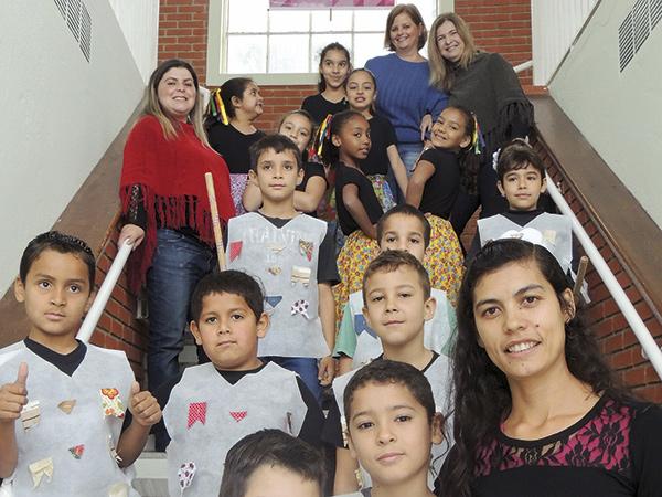 Alunos e professores participaram das atividades