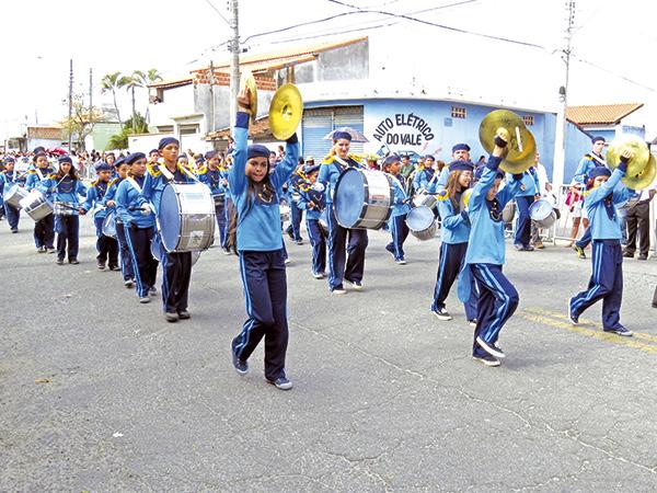 Em Moreira César, desfile acontecerá no dia 6, e no centro de Pinda, dia 7