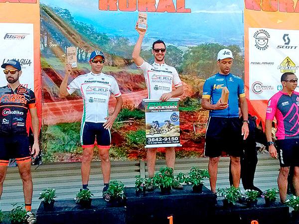 Os atletas de Pinda conquistaram ótimas classificações no desafio