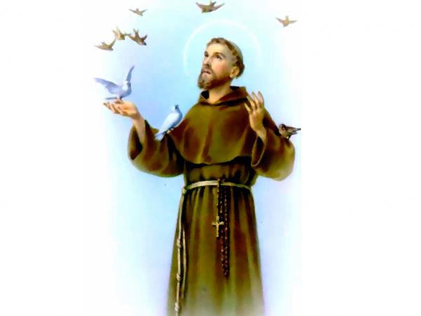 São Francisco é o santo protetor dos animais
