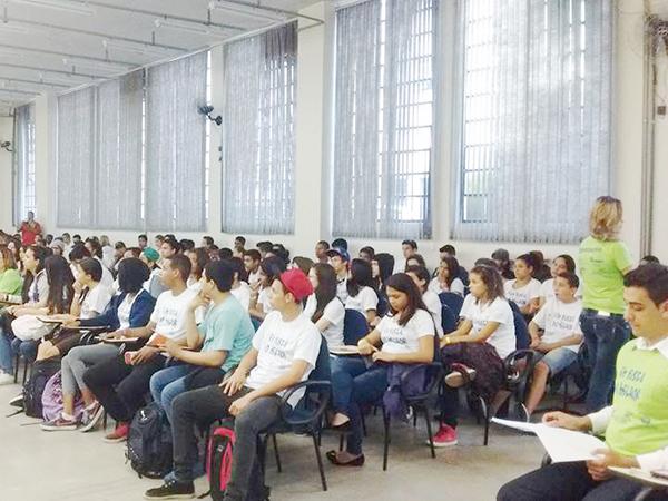Encontro pretende reunir mais de 200 adolescentes estudantes de escolas estaduais de Pinda