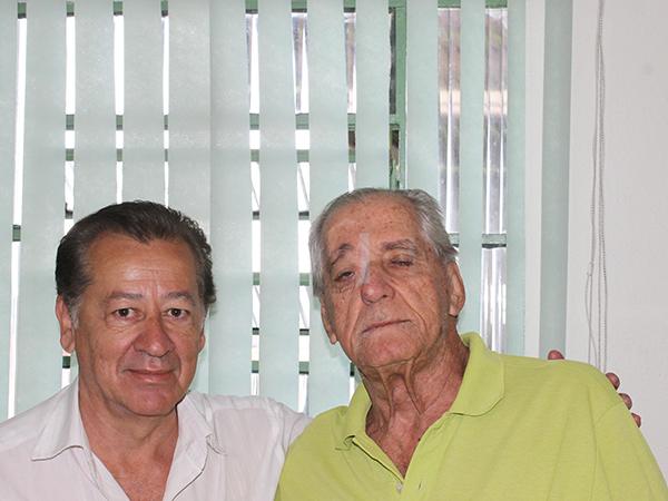 Roberto Faria na última visita à redação do jornal Tribuna do Norte