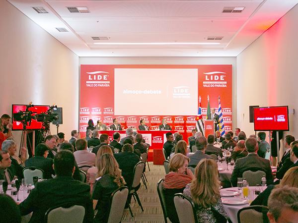 Oportunidade ímpar para debater o cenário econômico nacional e as expectativas de crescimento para o Vale