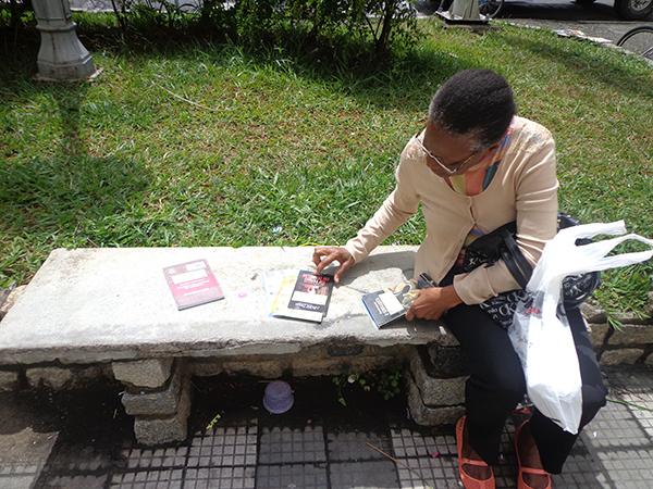 """Uma das atividades durante a """"Virada Educação"""" foi o lançamento livro """"Pindamonhangaba: a cidade da Gente"""""""