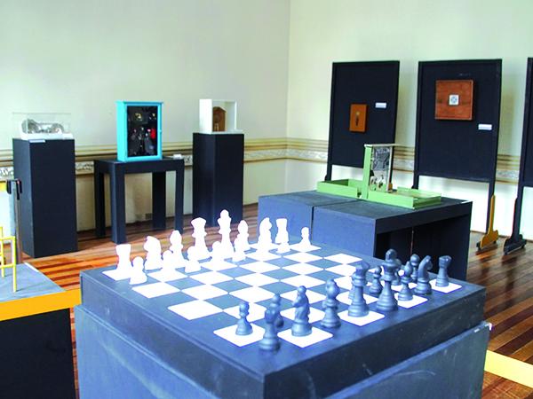 As obras da artista Polyana Zappa possuem inspirações de Marcel Duchamp
