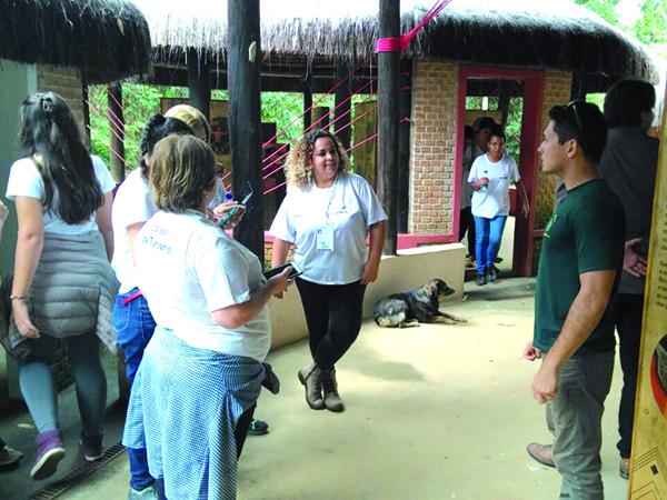 """O objetivo do projeto """"Janelas da vida"""" é proporcionar experiências no turismo para os deficientes visuais"""