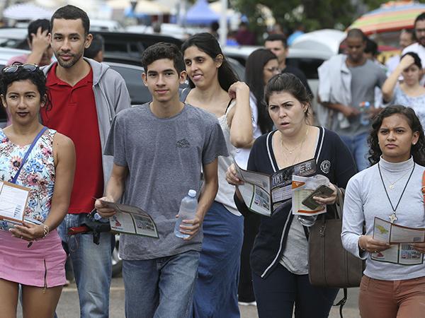 Embora o tema da redação tenha surpreendido muita gente, estudantes estão confiantes