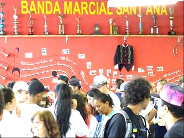 Museu da Banda Marcial Sant'Ana  guardará um pouco da história de uma banda que encantava o público em suas apresentações