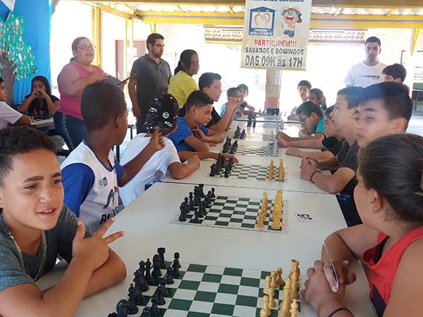 Competição aconteceu no Clube de Xadrez de Pindamonhangaba
