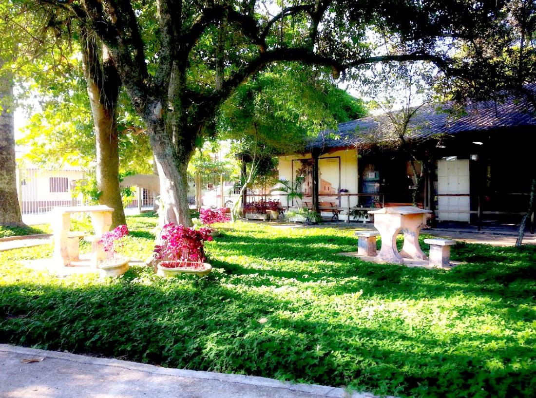 Biblioteca Municipal Vereador Rômulo Campos D'Arace, no Bosque da Princesa
