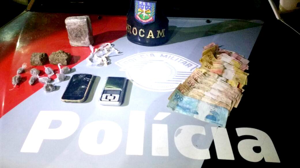2b - Rapaz e preso por trafico de drogas