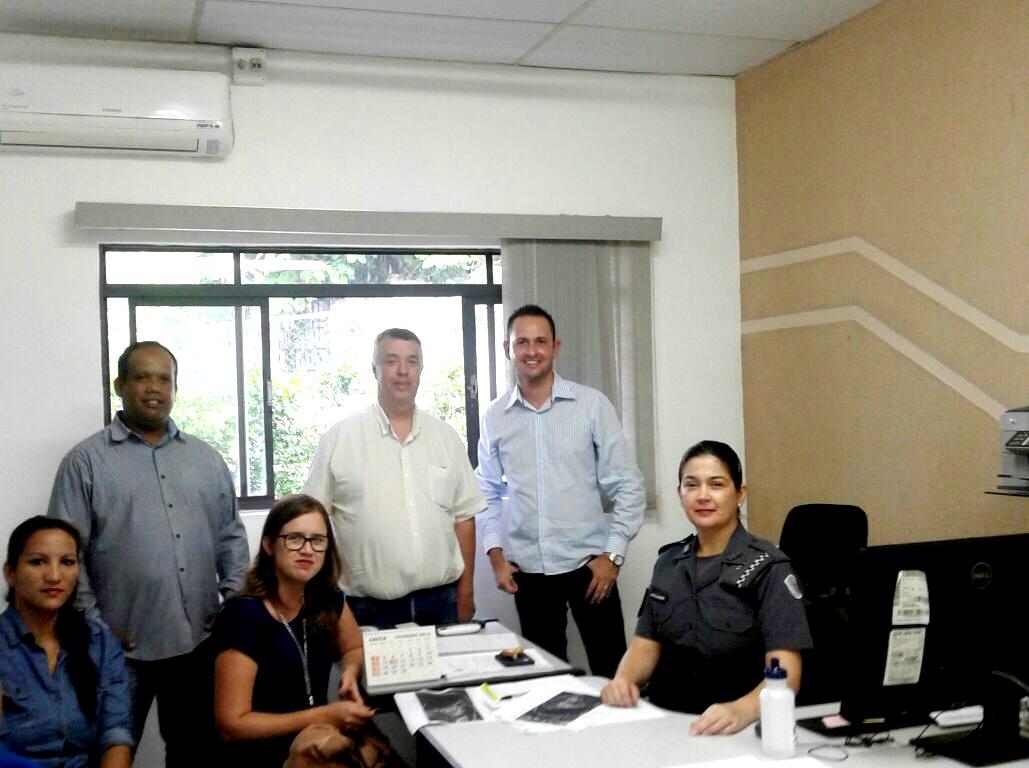 Reunião entre representantes da Prefeitura, da PM e de empresa de segurança particular alinhou questões relacionadas à segurança no Carnaval