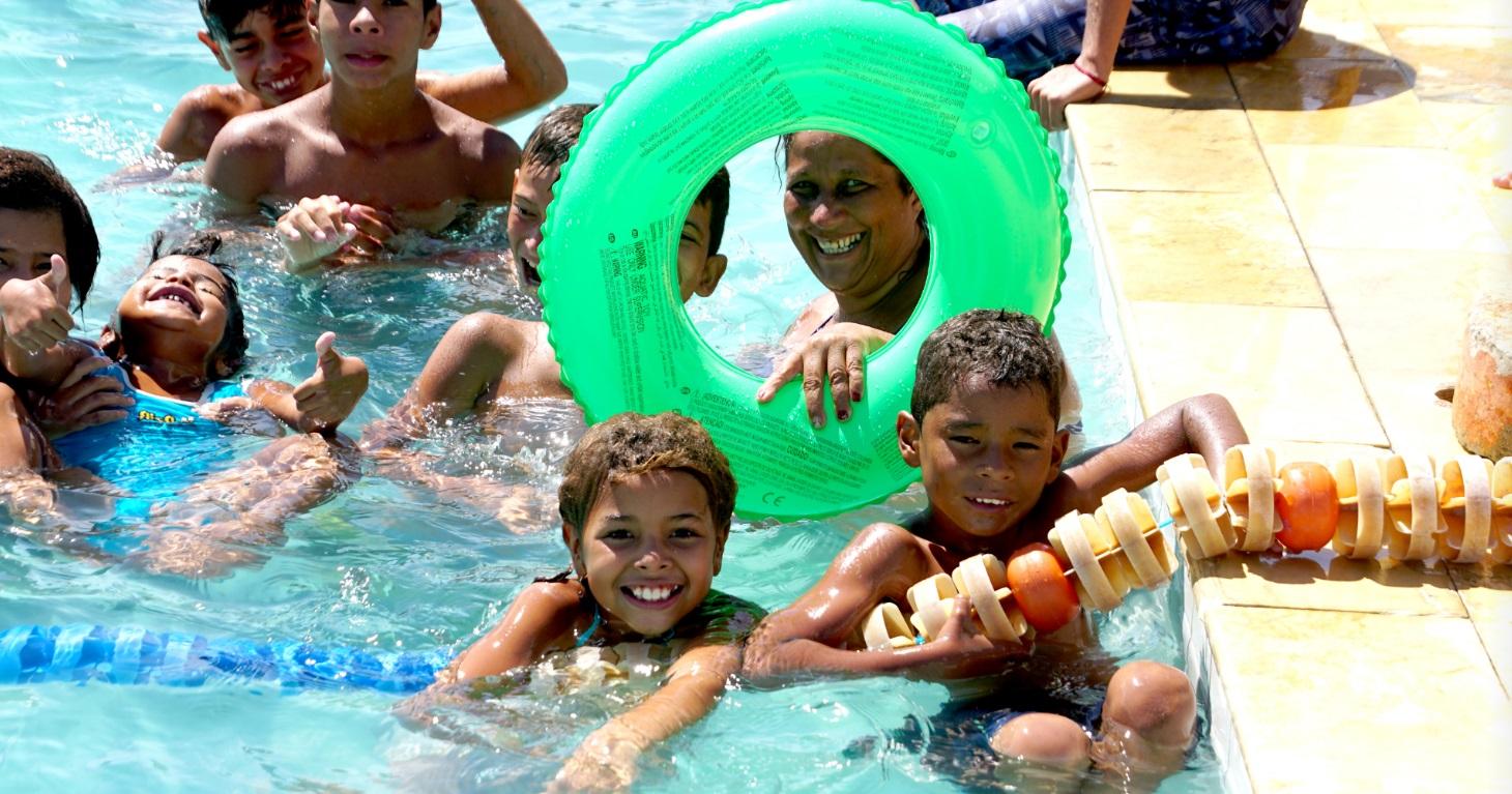 Por duas semanas, piscinas dos Centros Esportivos foram abertas à população