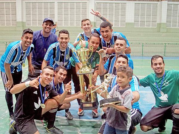 ADC Grêmio venceu a categoria adulto. Todas as partidas foram muito disputadas e as arquibancadas estavam lotadas de torcedores