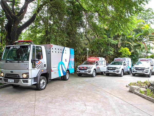 Dos 202 veículos entregues, 28 foram para o Vale do Paraíba e Litoral Norte