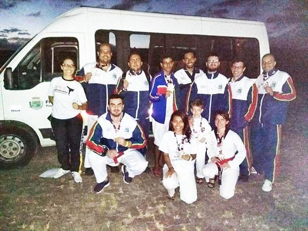 Competição foi em Arujá e também recebeu atletas estrangeiros