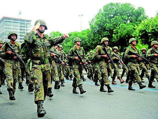 Desfile cívico-militar do 7 de setembro no Rio