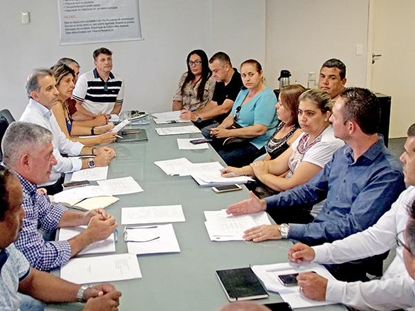Projeto para a candidatura é apresentado aos representantes das secretarias municipais