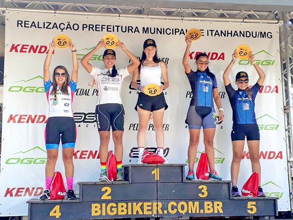 Pamella Karina conquistou o 2º lugar no Sub 30