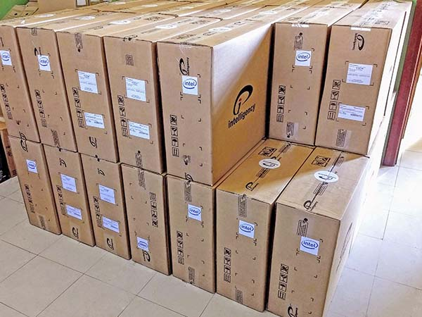 Saúde recebe mais de 200 computadores para agilizar atendimento ao público