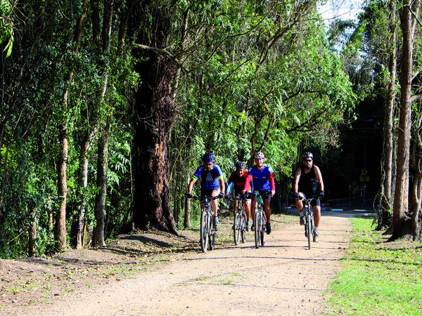 Parque da Cidade recebe pista oficial de mountain bike