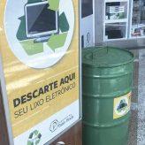 Pinda ganha Eco Ponto de Lixo Eletrônico
