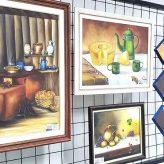 Saguão da Prefeitura recebe  exposição de artes plásticas