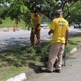 Limpeza pública tem redução de efetivo