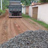 Ponto crítico da Estrada Municipal Manuel Canuto Vieira tem intervenção após chuvas