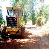 Pinhão do Borba conta com serviços de manutenção